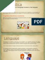 Nociones de La Linguistica