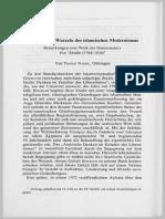 Nagel Autochthone Wurzeln Des Islamischen Modernismus ZDMG1996