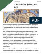 Cómo ser un historiador global, por Serge Gruzinski - Historia Global Online