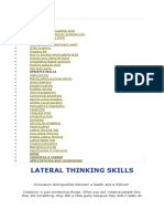 SKILLS Lateral Thinking Test