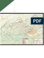 Smoky Mountains Park Map (2008)