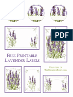 Lavender Labels GraphicsFairy