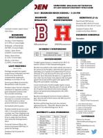 bearden heritage basketball game notes