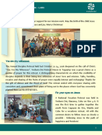 Official Newsletter of Verbum Dei Luzon (No 22)