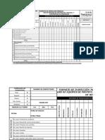 FASHM-007 Formato de Inspección Mensual de EPP