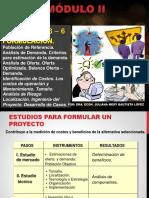 II Módulo - Sesion 3 Formulacion de Proyectos
