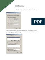Configuración Inicial ISA Server