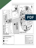 Plano de Ubicacion y Localizacion Aforo