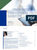 Alternative Lending Market Report 2016