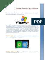 Reseña de los Sistemas Operativos de Actualidad