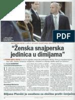 Biljana Plavsic - Zenska snajperska jedinica u dimijama GLOBAL 05-11-2009