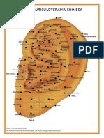 Mapas Auriculoterapia