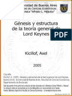 Kicillof genesis y estrcutura de la teoria de lord keynes.pdf