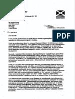 Alex Salmond's response