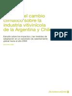 Efectos Del Cc en La Industria Vitivinicola Final