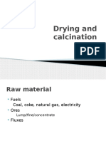 Drying and Calcinantion