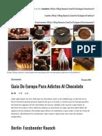 Guía de Europa para adictos al chocolate - Into the Blue | el blog de viajes de Ryanair