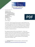 FEC complaint about GEO Group donation to pro-Trump super PAC