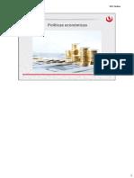 Semana 5 - Politicas Económicas
