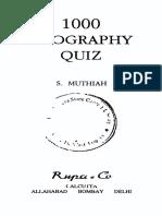 1000 Geography Quiz