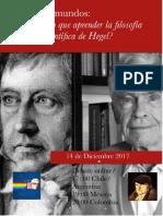 Debate Hegel vs Bunge