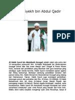 Al Habib Syekh bin Abdul Qadir Assegaf.docx