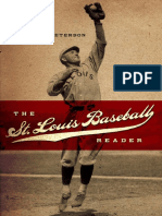 [Richard Peterson] the St. Louis Baseball Reader
