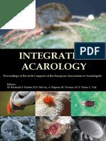 Integrative Acarology