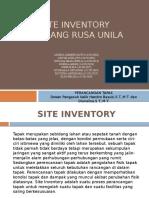 Site Inventory