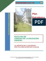Plan Estrategico de La Fac de Ciencias de La Educacion