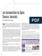 An Introduction to Open Source Journals