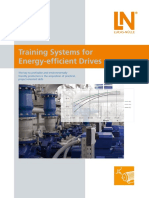 Training Systems for Energy Efficient Drives Flyer