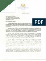 Letter to Shuster