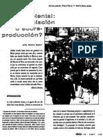 Crisis Ambiental-sobrepoblacion o Sobreproduccion