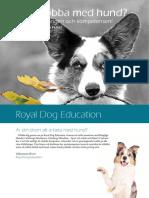 Royal Dog Education Utbildningskatalog WEB