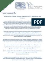 Atech-contra Represion en Bariloche