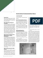 Geotechnical Instrumentation News Dec.2004
