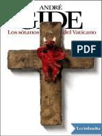 Los Sotanos Del Vaticano - Andre Gide