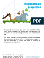 Presentación - Lanzamiento de Proyectiles