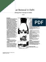 Urba Renewal Delhi