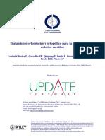 Tratamiento Ortodóncico y Ortopédico