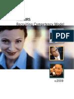 Airs Recruiter Comp Model
