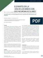 Aspectos Relevantes en La Rehabilitaci n de Los Ni Os Con Enfermedades Neuromusculares 2014 Revista M Dica Cl Nica Las Condes