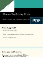 human trafficking crisis ppt
