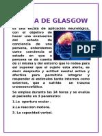Escala de Glasgow Gg