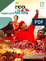 """Revista """"Correo del Alba"""" No. 22 - Septiembre, 2012"""
