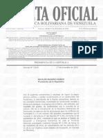 Gaceta Oficial Extraordinaria 6.278