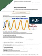 4 Tipos de Respiración Que Un Estudiante de Medicina Debe Conocer - Docsity