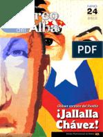 """Revista """"Correo del Alba"""" No. 24 - Noviembre, 2012"""
