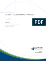 Camoin Student Housing Market Student Nov. 2016